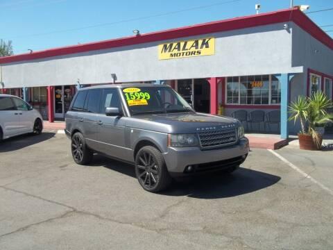 2010 Land Rover Range Rover for sale at Atayas Motors INC #1 in Sacramento CA
