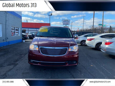 2012 Chrysler Town and Country for sale at Global Motors 313 in Detroit MI