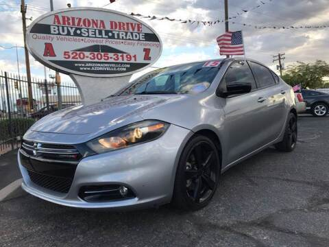 2015 Dodge Dart for sale at Arizona Drive LLC in Tucson AZ