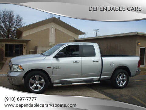 2016 RAM Ram Pickup 1500 for sale at DEPENDABLE CARS in Mannford OK