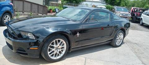 2013 Ford Mustang for sale at AUTOTEX FINANCIAL in San Antonio TX