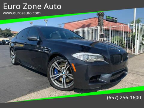 2013 BMW M5 for sale at Euro Zone Auto in Stanton CA