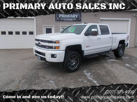 2018 Chevrolet Silverado 2500HD for sale at PRIMARY AUTO SALES INC in Sabattus ME