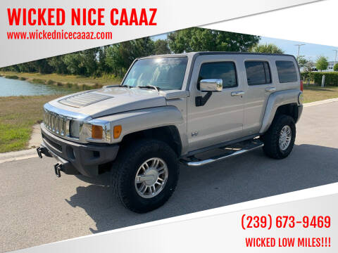 2006 HUMMER H3 for sale at WICKED NICE CAAAZ in Cape Coral FL