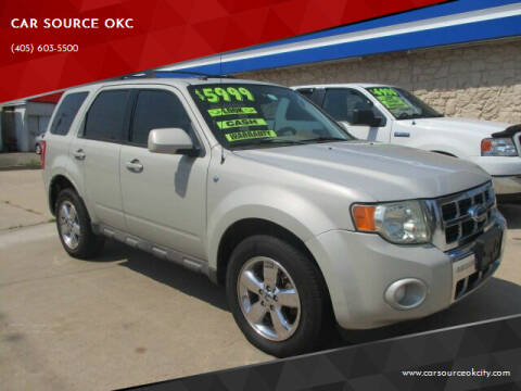 2009 Ford Escape for sale at CAR SOURCE OKC - CAR ONE in Oklahoma City OK