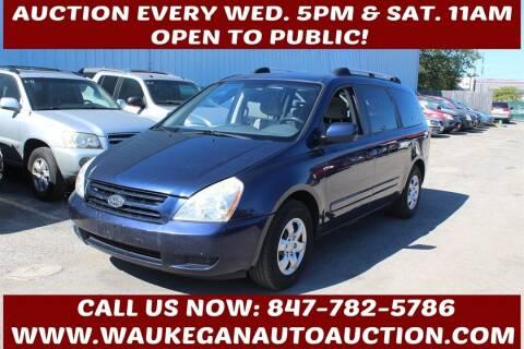 2008 Kia Sedona for sale at Waukegan Auto Auction in Waukegan IL
