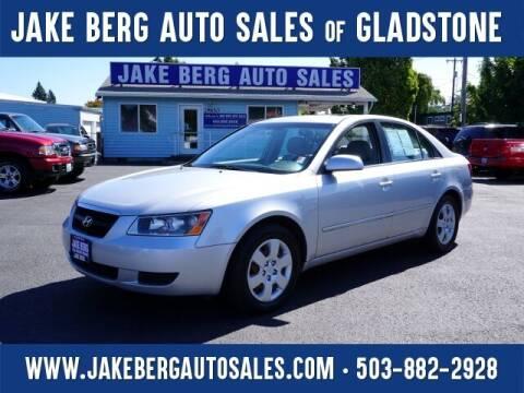 2008 Hyundai Sonata for sale at Jake Berg Auto Sales in Gladstone OR