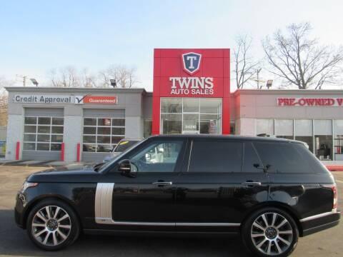 2017 Land Rover Range Rover for sale at Twins Auto Sales Inc - Detroit in Detroit MI