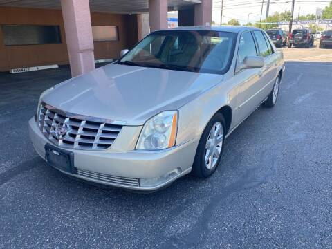 2007 Cadillac DTS for sale at AROUND THE WORLD AUTO SALES in Denver CO