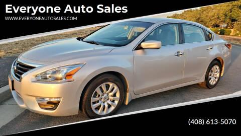 2015 Nissan Altima for sale at Everyone Auto Sales in Santa Clara CA