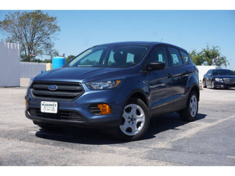 2018 Ford Escape for sale at Maroney Auto Sales in Humble TX