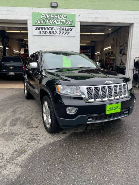 2012 Jeep Grand Cherokee for sale at Pikeside Automotive in Westfield MA