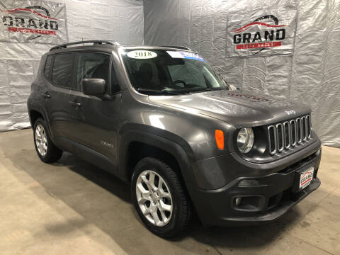 2018 Jeep Renegade for sale at GRAND AUTO SALES in Grand Island NE