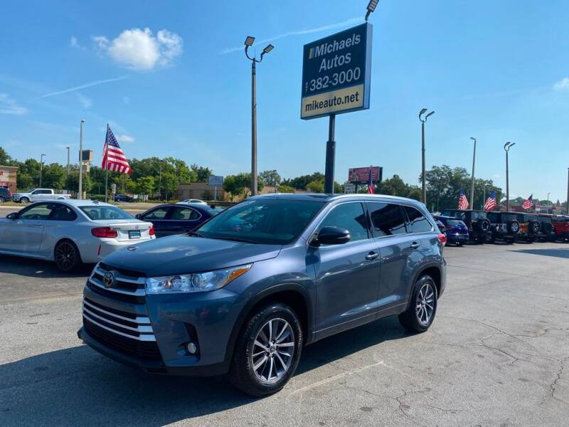 2018 Toyota Highlander for sale at Michaels Autos in Orlando FL