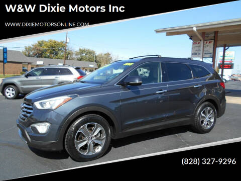 2013 Hyundai Santa Fe for sale at W&W Dixie Motors Inc in Hickory NC