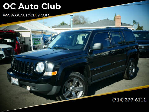 2016 Jeep Patriot for sale at OC Auto Club in Midway City CA