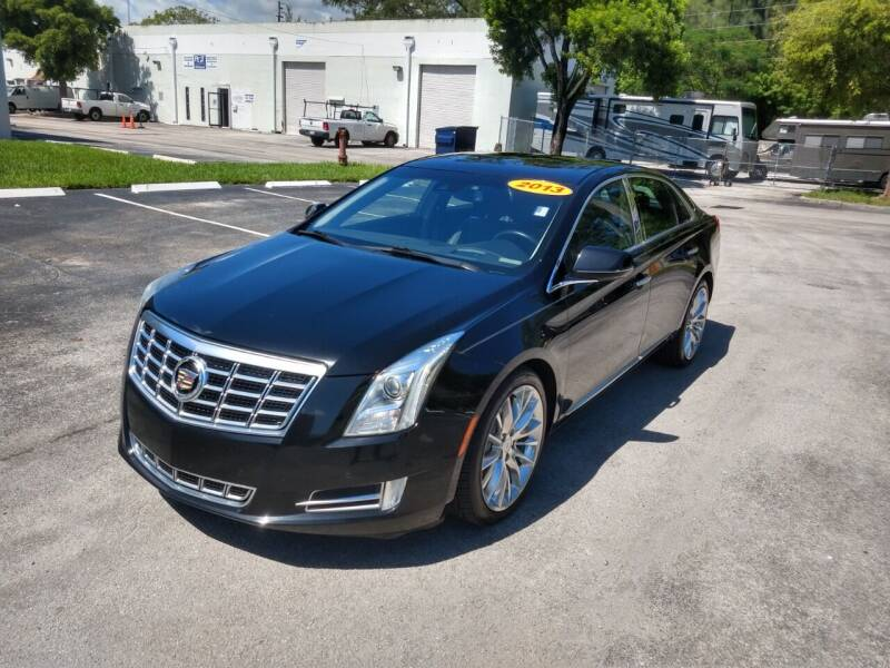 2013 Cadillac XTS for sale at Best Price Car Dealer in Hallandale Beach FL