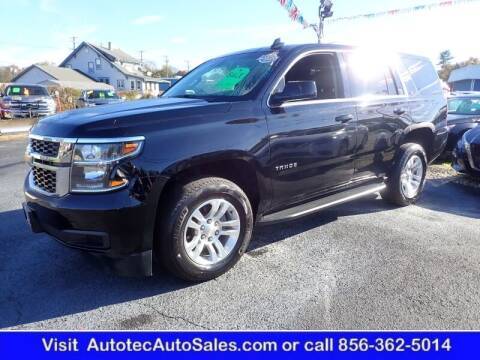 2019 Chevrolet Tahoe for sale at Autotec Auto Sales in Vineland NJ