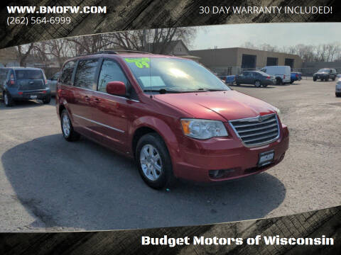 2009 Chrysler Town and Country for sale at Budget Motors of Wisconsin in Racine WI