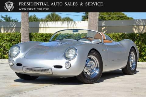 1955 Porsche 550 Spyder for sale at Presidential Auto  Sales & Service in Delray Beach FL