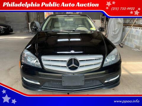 2011 Mercedes-Benz C-Class for sale at Philadelphia Public Auto Auction in Philadelphia PA
