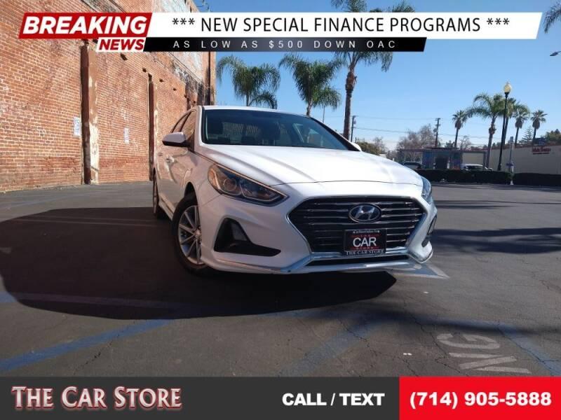 2018 Hyundai Sonata for sale at The Car Store in Santa Ana CA