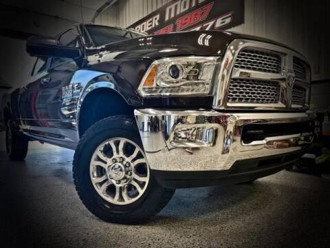 2017 RAM Ram Pickup 3500 for sale at Carder Motors Inc in Bridgeport WV