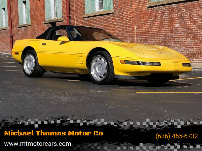 1992 Chevrolet Corvette for sale at Michael Thomas Motor Co in Saint Charles MO