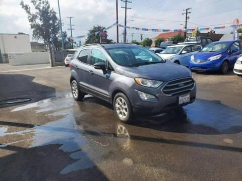 2018 Ford EcoSport for sale at Silver Star Auto in San Bernardino CA