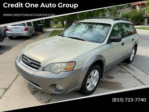 2005 Subaru Outback for sale at Credit One Auto Group in Joliet IL