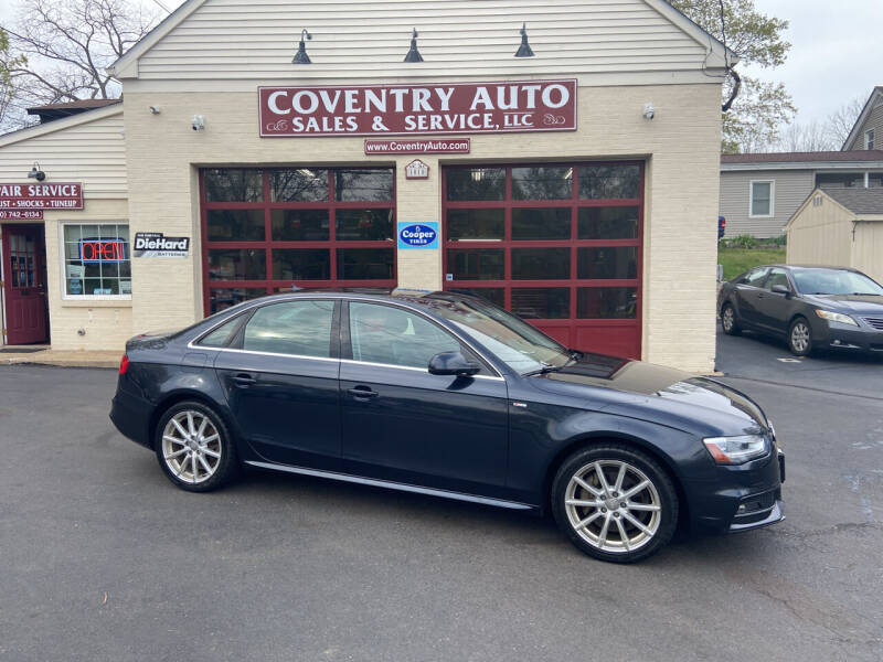 2014 Audi A4 for sale at COVENTRY AUTO SALES in Coventry CT