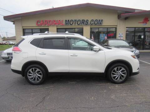 2015 Nissan Rogue for sale at Cardinal Motors in Fairfield OH