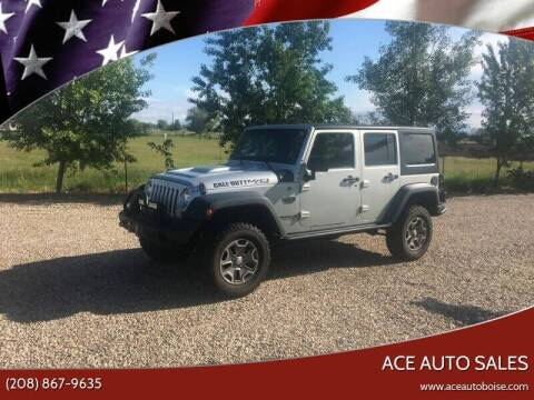 2012 Jeep Wrangler Unlimited for sale at Ace Auto Sales in Boise ID