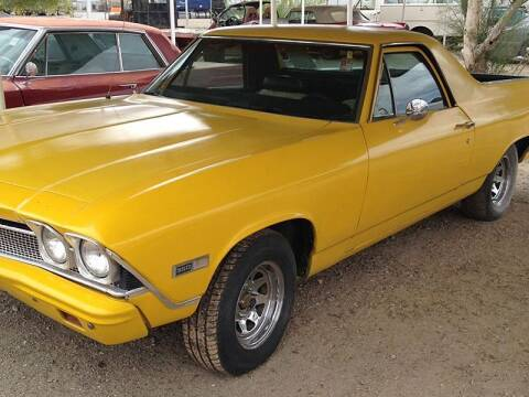 1967 Chevrolet El Camino for sale at Collector Car Channel - Desert Gardens Mobile Homes in Quartzsite AZ