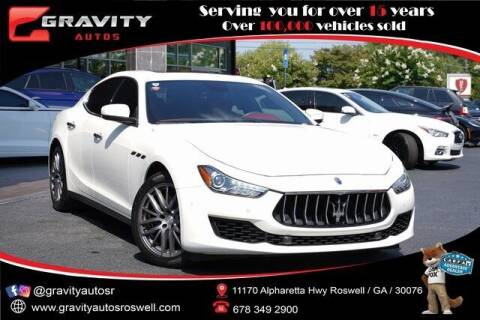 2018 Maserati Ghibli for sale at Gravity Autos Roswell in Roswell GA