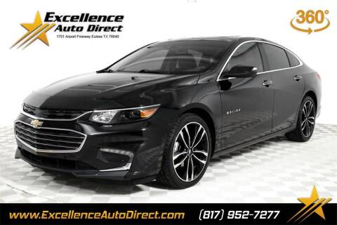 2018 Chevrolet Malibu for sale at Excellence Auto Direct in Euless TX
