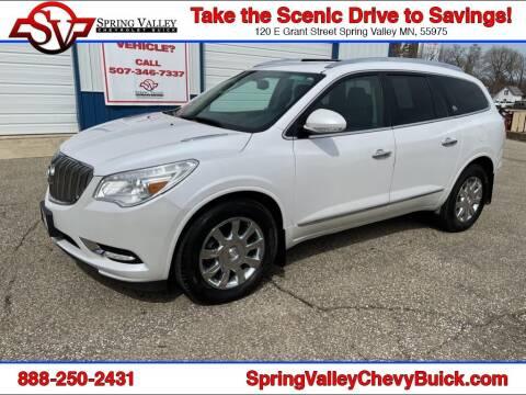 2016 Buick Enclave for sale at Spring Valley Chevrolet Buick in Spring Valley MN