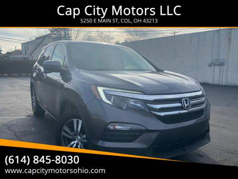 2016 Honda Pilot for sale at Cap City Motors LLC in Columbus OH