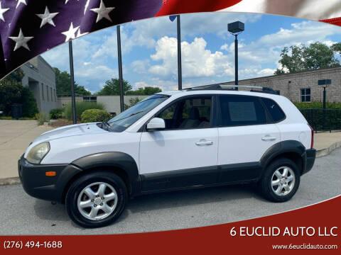 2005 Hyundai Tucson for sale at 6 Euclid Auto LLC in Bristol VA