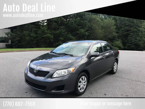 2010 Toyota Corolla for sale at Auto Deal Line in Alpharetta GA