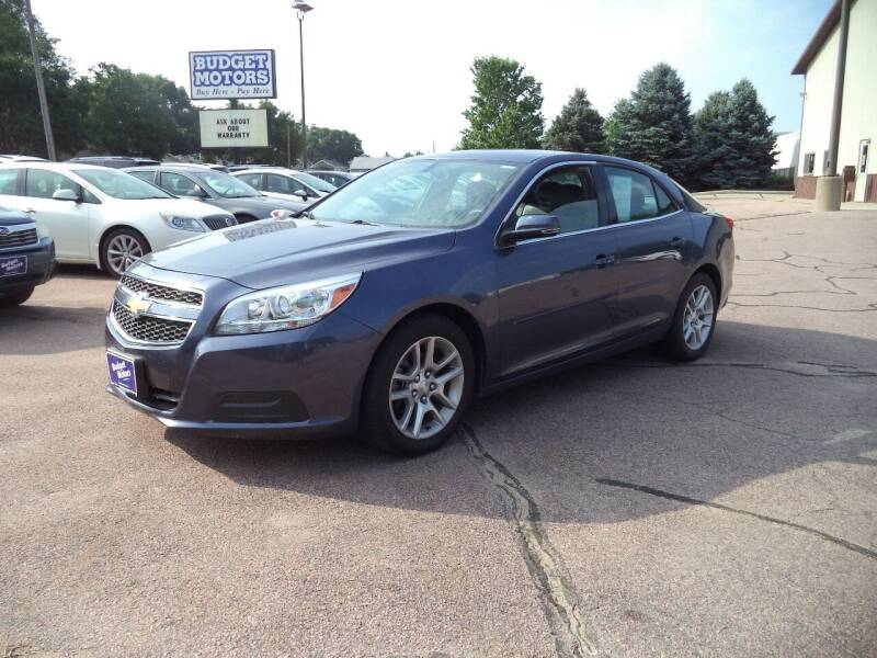 2013 Chevrolet Malibu for sale at Budget Motors - Budget Acceptance in Sioux City IA
