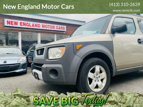 2004 Honda Element for sale at New England Motor Cars in Springfield MA
