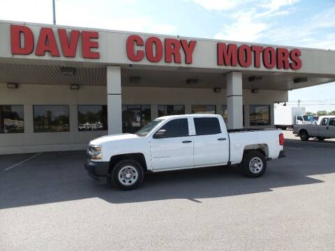 2017 Chevrolet Silverado 1500 for sale at DAVE CORY MOTORS in Houston TX