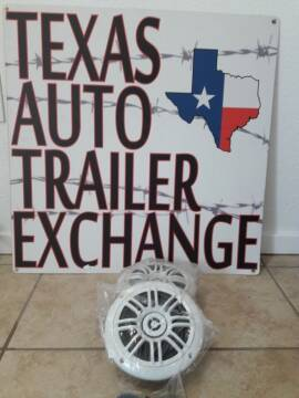Marine Speakers 6.5 marine for sale at Texas Auto Trailer Exchange in Cleburne TX
