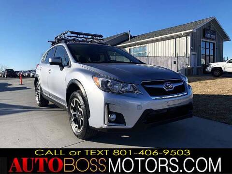 2016 Subaru Crosstrek for sale at Auto Boss in Woodscross UT