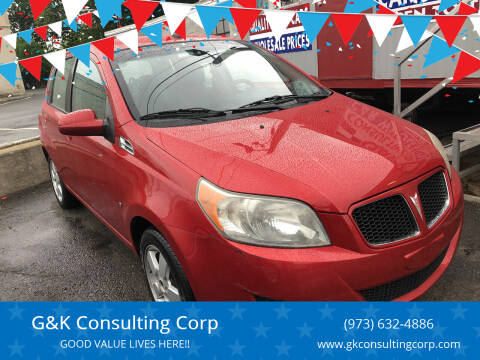 2009 Pontiac G3 for sale at G&K Consulting Corp in Fair Lawn NJ