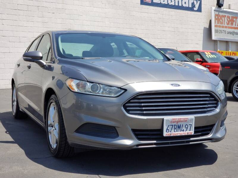 2013 Ford Fusion for sale at First Shift Auto in Ontario CA