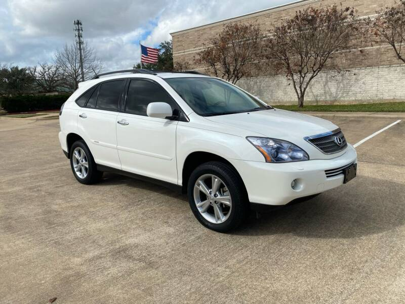 2008 Lexus RX 400h for sale at Pitt Stop Detail & Auto Sales in College Station TX