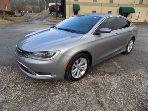 2015 Chrysler 200 for sale at S.S. Motors LLC in Dallas GA