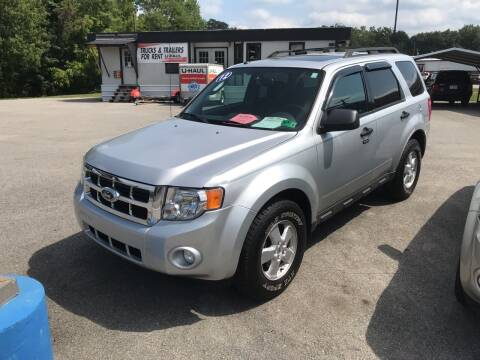 2012 Ford Escape for sale at RACEN AUTO SALES LLC in Buckhannon WV